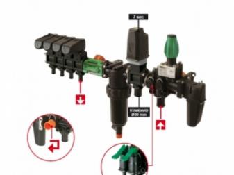 Разпределителна система - дебит 300л/мин