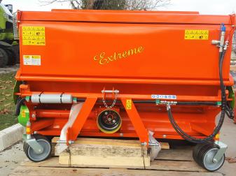 Мулчер с кош за събиране на отпадъци  марка Tierre модел EXTREME 1600 За трева и клони до диаметър 2-3 см. с кош
