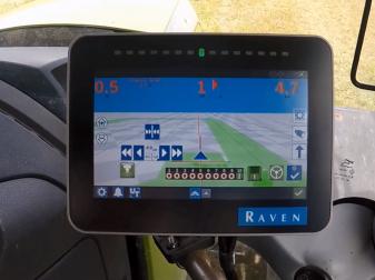 Навигационна система марка  Raven модел CR7
