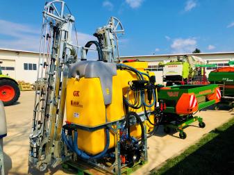Навесна Пръскачка Moccia  GK 1000 литра Захват 18 метра