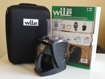 Уред за измерване на влагата, хектолитъра и температурата на зърно WILE 200