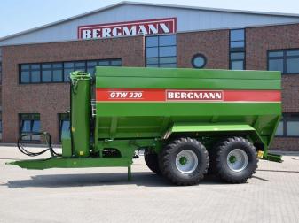 Тандемно разтоварващо ремарке  марка BERGMANN модел GTW 330