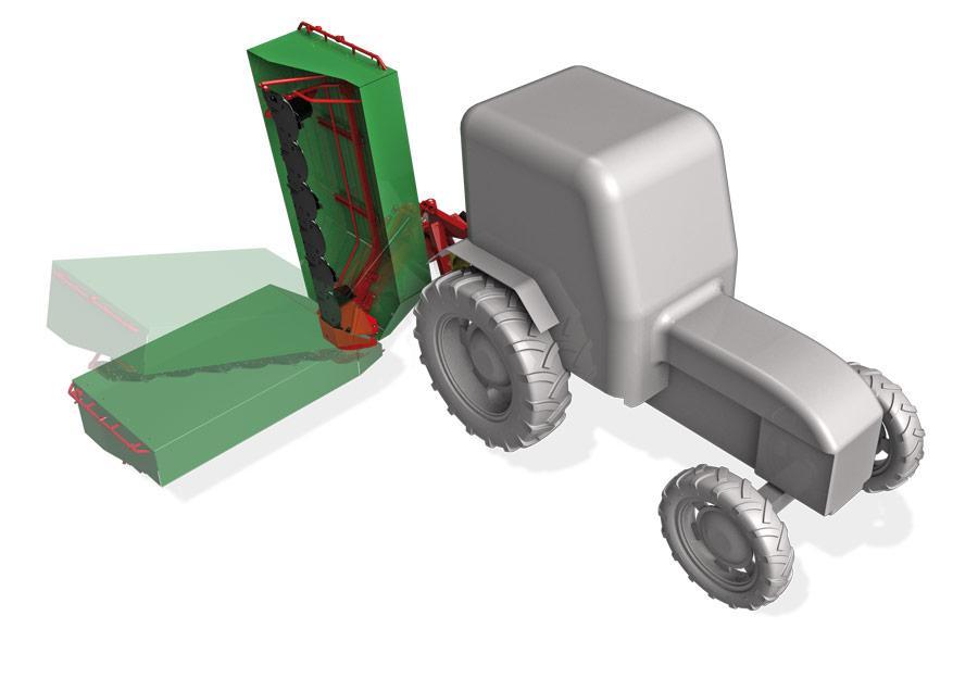 Disk mower Enorossi model DM 5