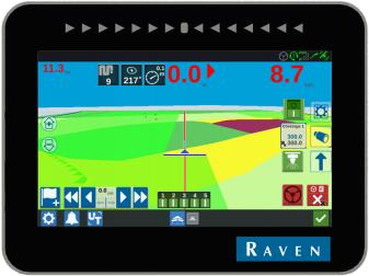 ПРОМОЦИЯ !!! Система за Автоматично Управление на Трактор с Навигационна система  марка Raven модел CR7 и мотор SmarTrax MD  3- 5 СМ